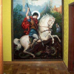 Художественная роспись по стене