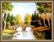 Репродукції картин відомих художників пейзажі,  натюрморти,  квіти
